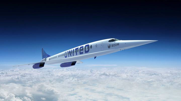 United Airlines Announces Deal To Buy 15 Supersonic Aeroplanes