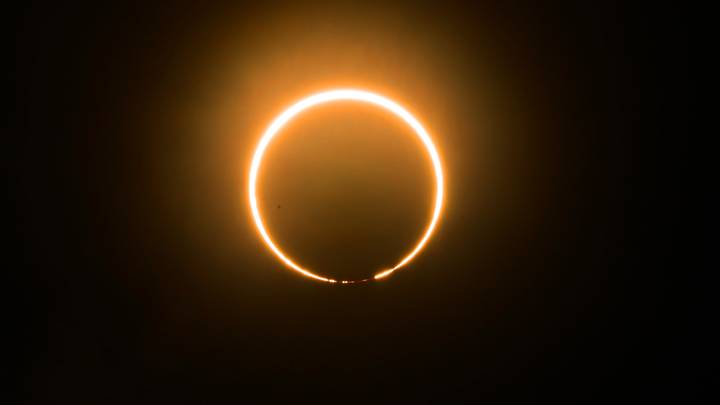 Amazing Photos Show Rare Solar Eclipse That Happened This Weekend