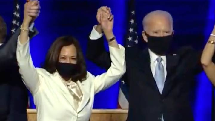 Joe Biden And Kamala Harris Announced As TIME Magazine's Joint Person Of The Year