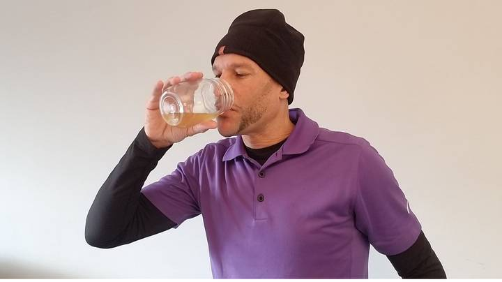 Fitness Fanatic Claims He Is Healthier After Swapping Food For Drinking His Own Urine