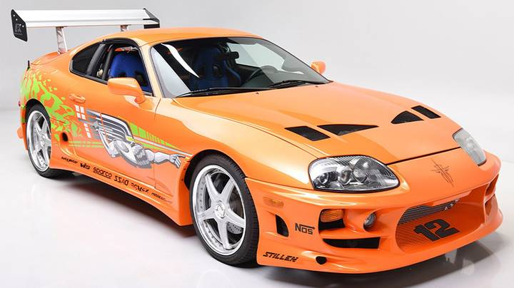 Paul Walker's Iconic 1994 Supra From The Fast & Furious Is Going Up For Auction