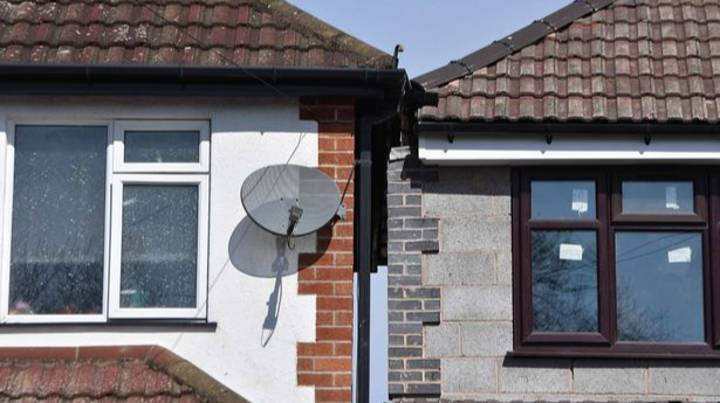 Homeowner Upset By Neighbour's Extension That Almost Touches His House