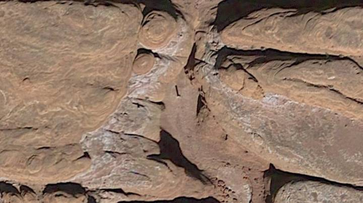 Mysterious Monolith Discovered Deep In Desert Found On Google Earth