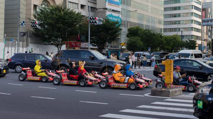 Mario Kart Fans Can Drive Around In Nintendo-Style Go-Karts In Japan