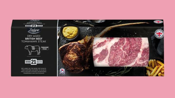 Lidl's Tomahawk Steak Is Going Back On Sale Tomorrow