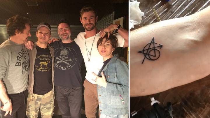 The Original Cast Of 'The Avengers' Got Matching Tattoos