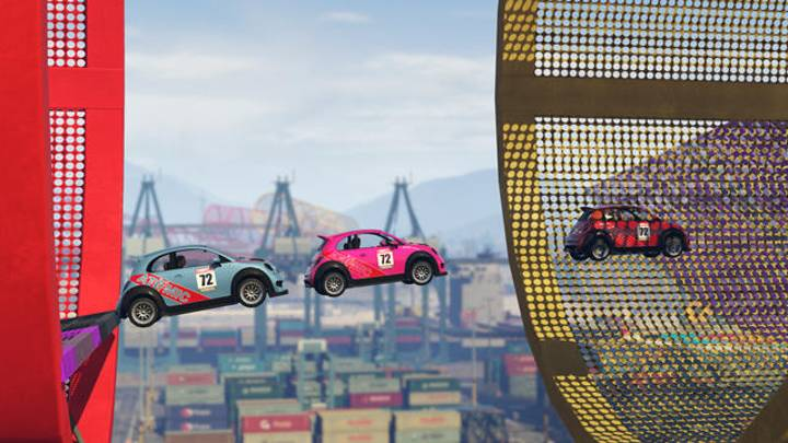 'GTA V Online' Gets A Completely Insane Stunt Driving Upgrade