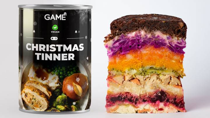GAME's Christmas Tinner For Lazy Gamers Is Back With Vegan And Veggie Options