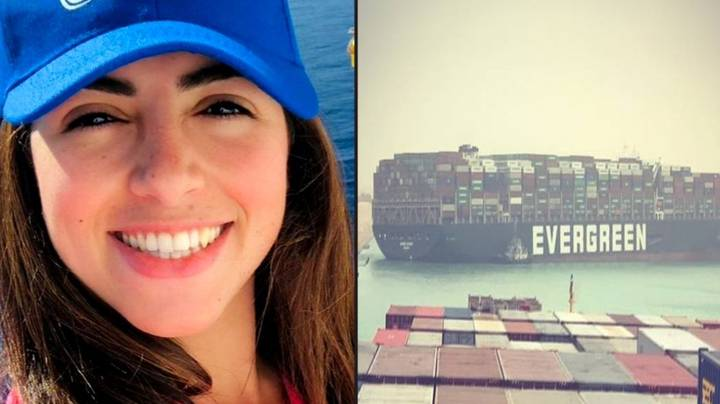 Woman Speaks Out After Being Blamed For Blocking Suez Canal