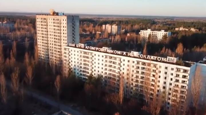 Eerie Chernobyl Drone Footage Shows True Extent Of Nuclear Reactor Damage