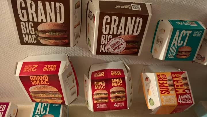 Lad Travels World To Make Huge McDonald's Burger Box Collection