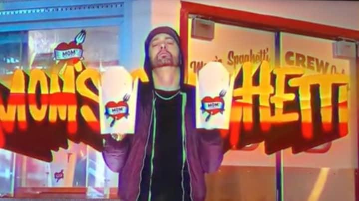 Eminem Is Opening A Mom's Spaghetti Restaurant