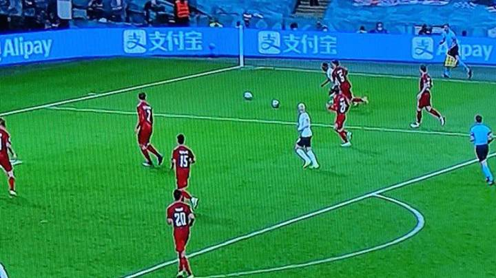 Fans Noticed Second Ball On The Pitch Before England's Penalty Against Denmark
