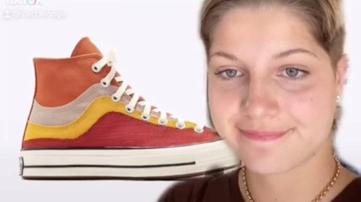 TikToker Claims Converse Stole Her Design After She Applied For Internship