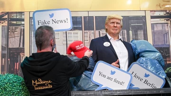 Berlin's Madame Tussaud's Puts Donald Trump Wax Figure In The Bin