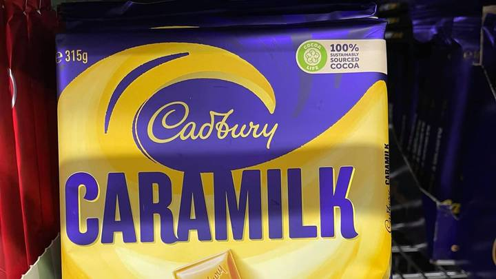 Cadbury Unveils A Literal Slab Of Caramilk Chocolate In Australia For The First Time