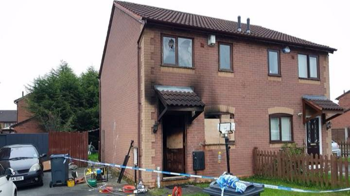 Devastating Scenes Emerge From Inside House Where 200-Shot Firework Killed Dad