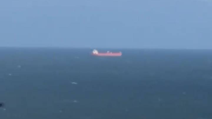 Cargo Ship 'Hijacked' Off The Coast Of The Isle Of Wight