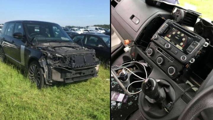 Creamfields Campers Furious After Vehicles Broken Into And Stripped Of Parts In Festival Car Park