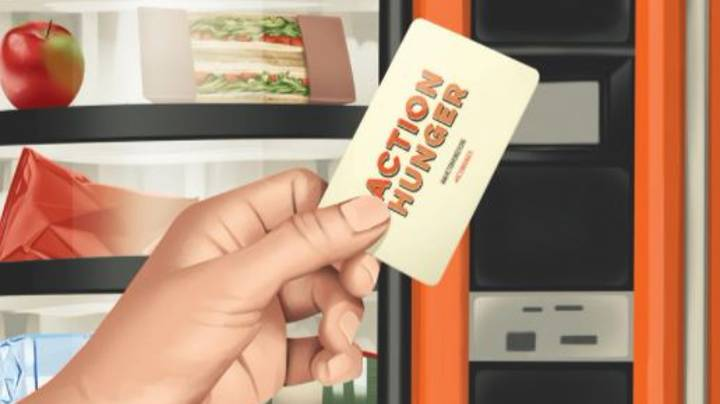 The World's First Vending Machine For Homeless People Has Been Installed