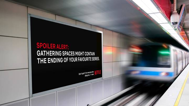 Students Put Netflix Spoilers On Billboards To Encourage People To Stay Inside