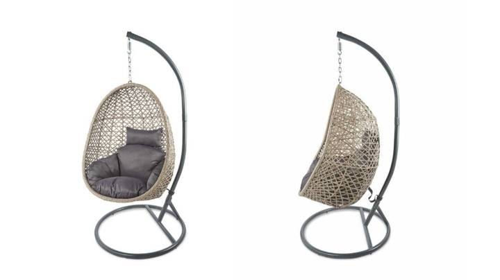 Aldi's Famous Egg Chair Back In Stock For Sunny Weekend