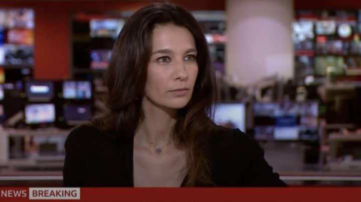 BBC Newsreader Yalda Hakim Receives Call From Taliban Live On Air