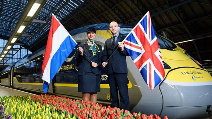 Tickets For Eurostar Service From London To Amsterdam Go On Sale