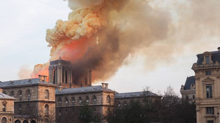 Notre Dame Priest Says All Precious Artefacts And Artwork Have Been Saved