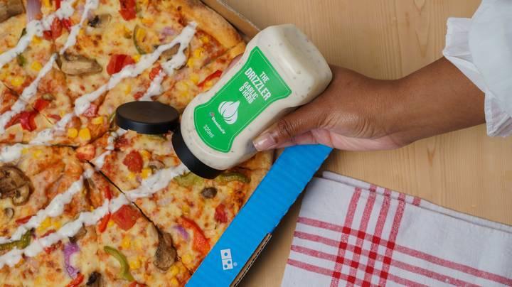 Domino's Unveils Limited Edition Garlic & Herb Drizzler Bottles