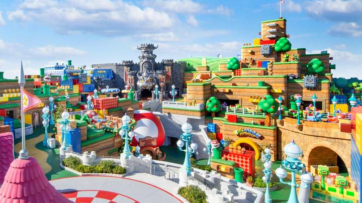 First Look At Super Nintendo World Set To Open On 4 February