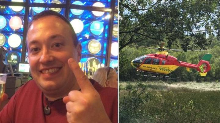 Hero Lad Helps Save Stranded Woman While Out Playing Pokémon Go