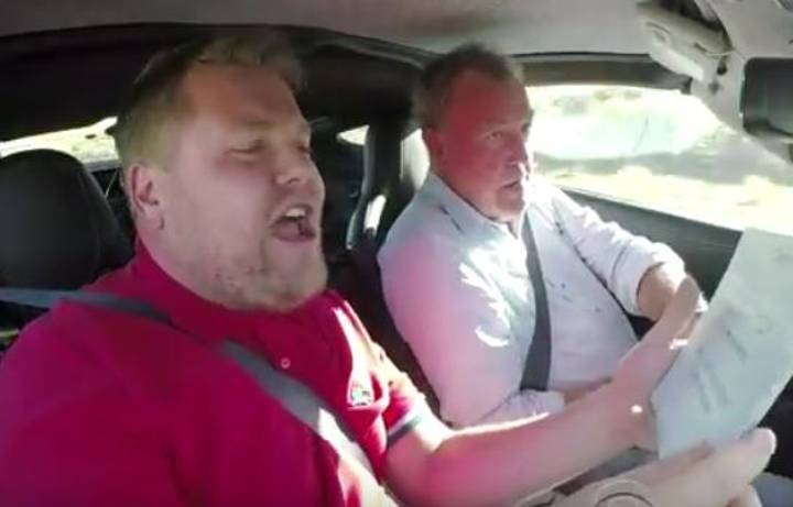 James Corden Quizes 'The Grand Tour' Hosts While Doing What They Do Best