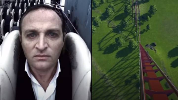 Terrifying Simulation Shows What It's Like To Ride Euthanasia Rollercoaster