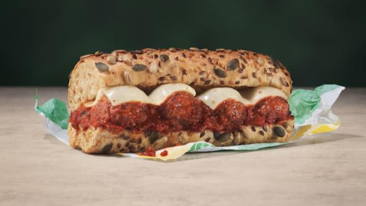 Subway Releases Vegan Meatless Meatball Marinara Sub