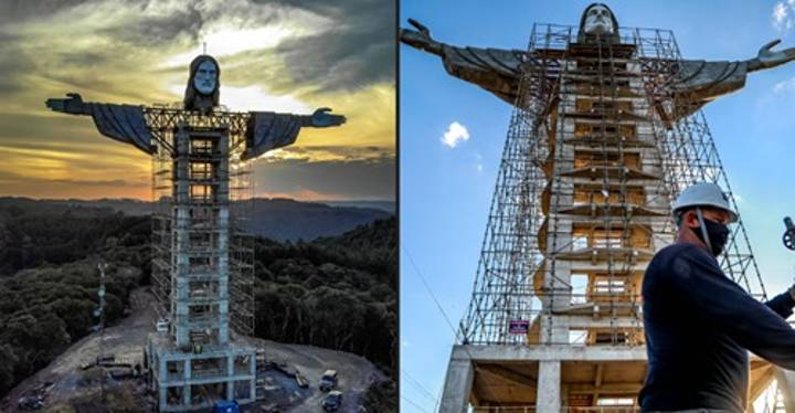 Brazil Builds New Statue Of Jesus That's Even Higher Than Christ The Redeemer