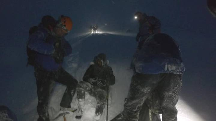 Four 'Idiots' Slammed By Mountain Rescue After Climbing Ben Nevis In Trainers During Blizzard
