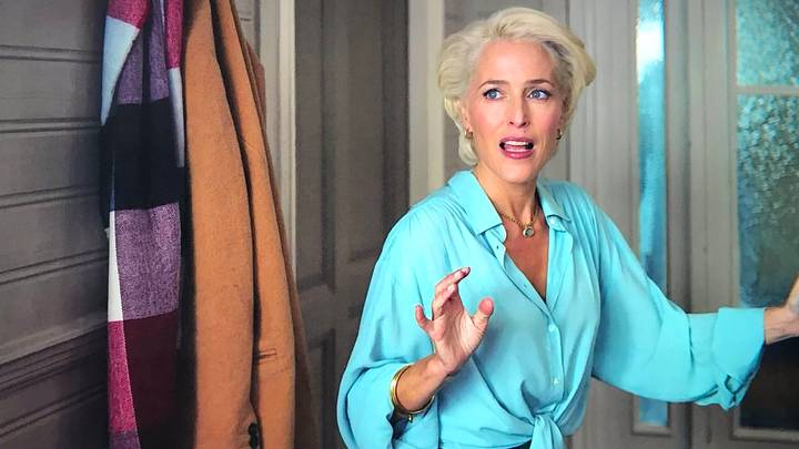 Netflix Shares Raw Footage Of Gillian Anderson's Instructional Video From Sex Education