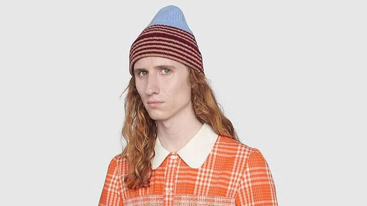 Gucci Releases Orange Tartan Dress For Men To Challenge 'Toxic Stereotypes'