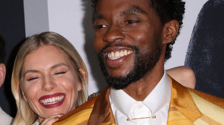 Chadwick Boseman Gave Up Some Of His Pay To Sienna Miller In 21 Bridges