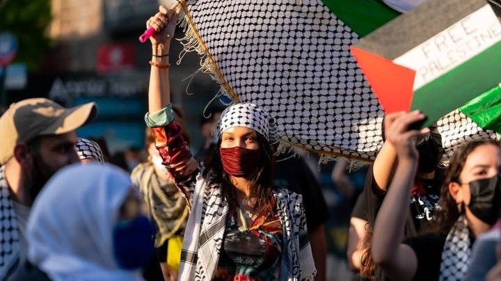 Israel Slams Bella Hadid And Other Celebrities For Attending Pro-Palestine Rallies