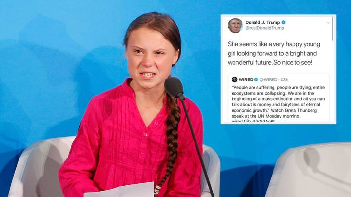 Greta Thunberg Expertly Trolls Donald Trump After His Sarcastic Tweet About Her