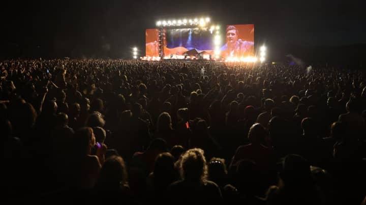 New Zealanders Attend Largest Concert Since Pandemic Began