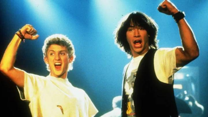 Keanu Reeves And Alex Winter Reunited To Say A Third 'Bill & Ted' Film Could Be On Its Way