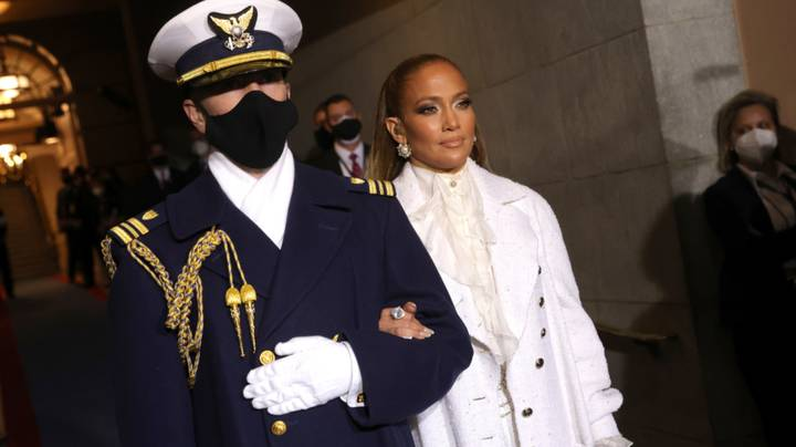 Jennifer Lopez's Spanish Phrase During Inauguration Performance Was From Pledge Of Allegiance