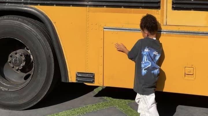 Travis Scott Buying Daughter Stormi A Yellow School Bus Has Caused A Huge Debate