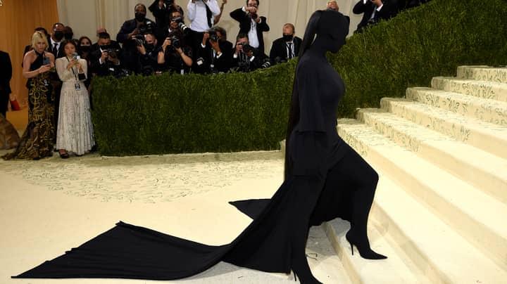 Kim Kardashian's All-Black Balenciaga Outfit At The Met Gala Divides Opinion