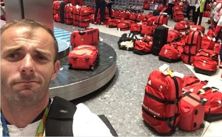 Some Muppet Gave Team GB Matching Luggage And They Tweeted The Whole Mess