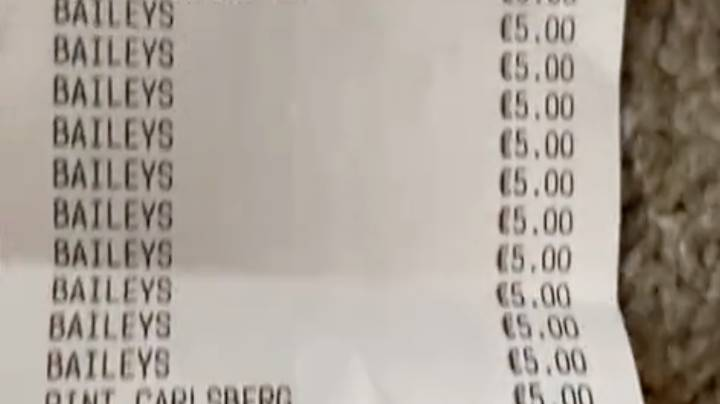 LADs Rack Up Humungous Bar Bill After 'A Few Quiet Ones' Turns Into 11-Hour Session
