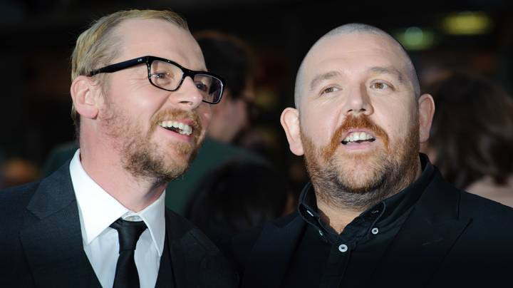 Simon Pegg Left Nick Frost Out In The Woods After Bender